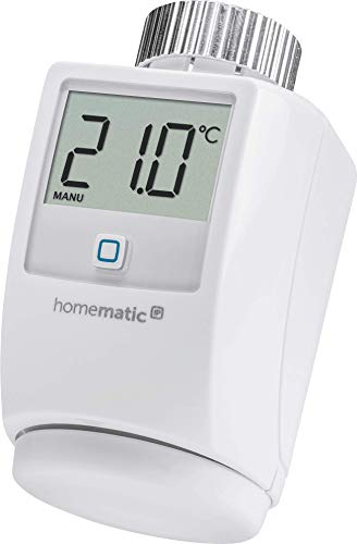 Homematic IP Smart Home Heizkörperthermostat – Standard - Intelligente Heizungssteuerung per...