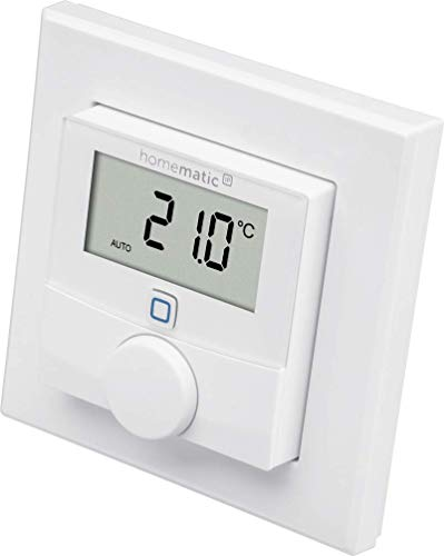 Homematic IP Smart Home Wandthermostat mit Luftfeuchtigkeitssensor – intelligente...