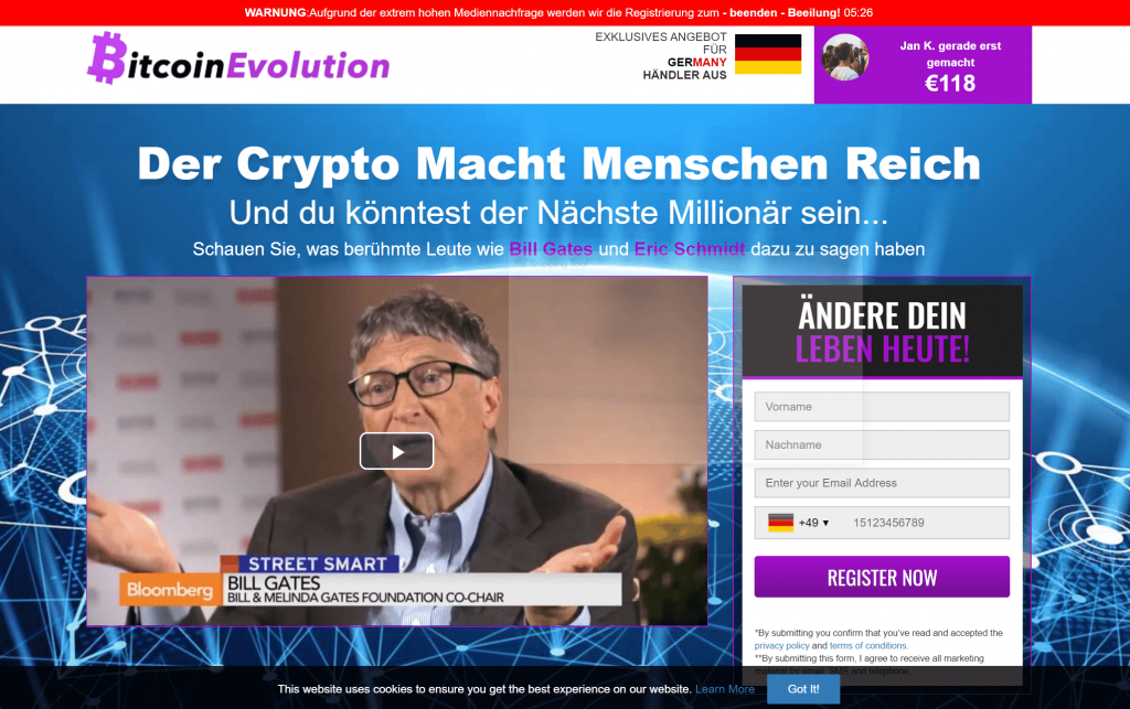 Bitcoin Evolution Jauch