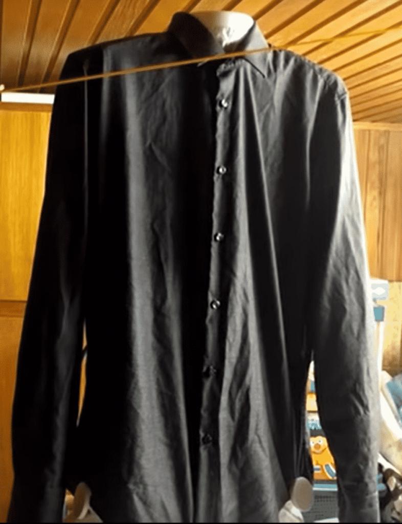 Cleanmaxx Hemdenbügler Test vorher