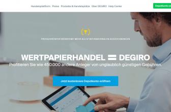 Der DEGIRO Broker lohnt sich für den Aktienhandel bis 20.000 €