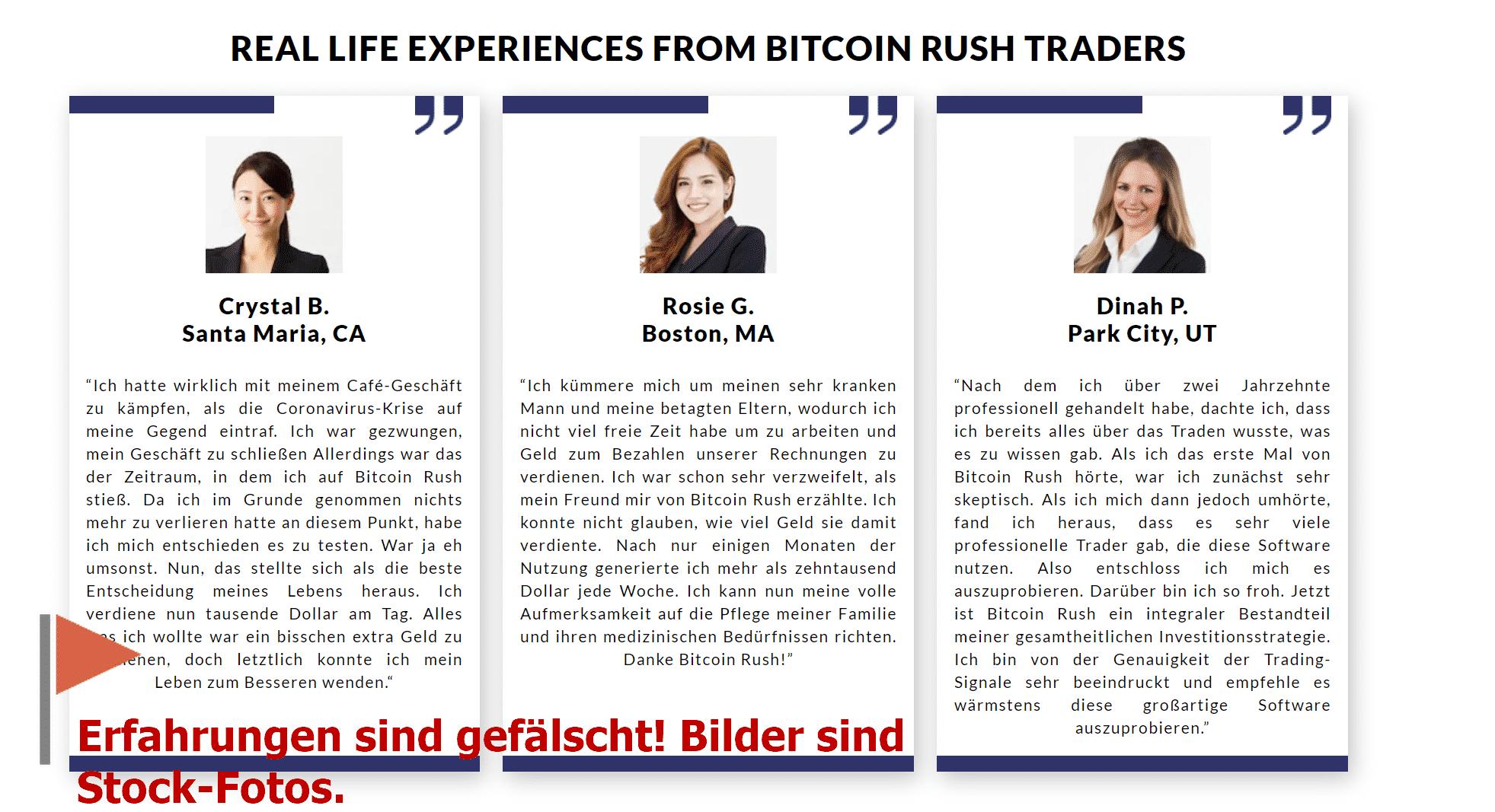 Niemals war Bitcoin Rush Höhle der Löwen Kandidat
