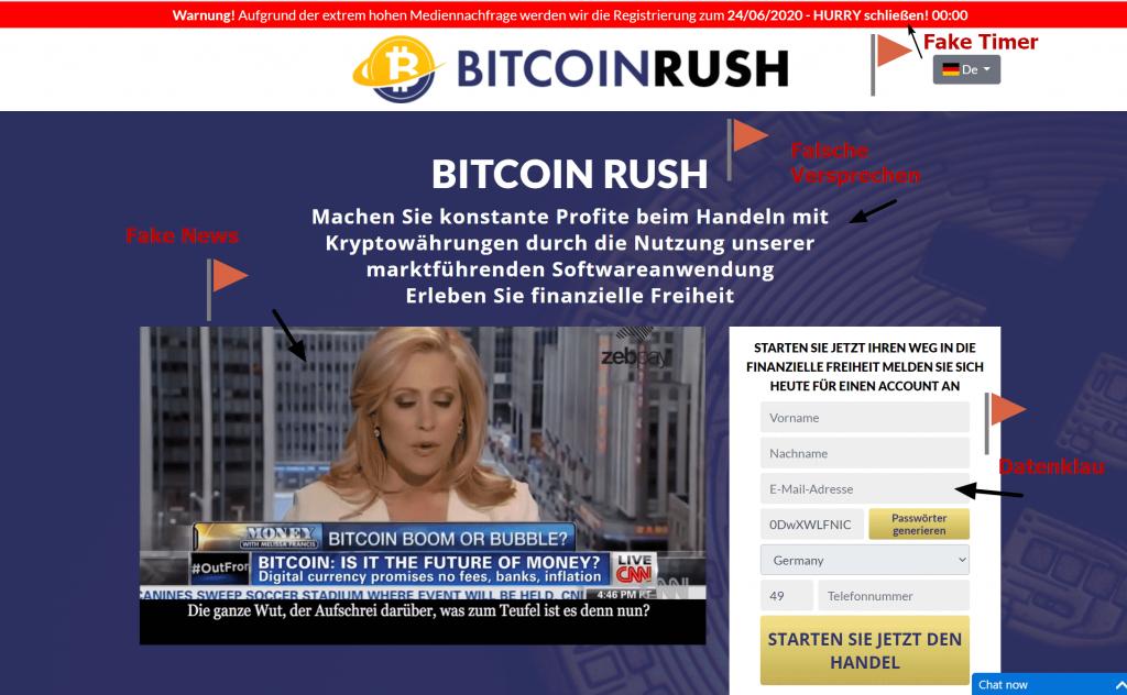 Bitcoin Rush Funziona o Truffa? Opinioni e Recensioni [2021]