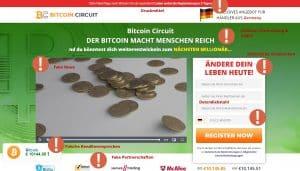 Ein klarer Bitcoin Circuit Betrug