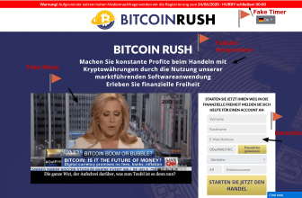 Bitcoin Rush Betrug mit Höhle der Löwen: Test 2020