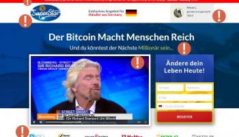 Bitcoin Superstar Betrug 2020 – Vorsicht vor dem Gottschalk Scam