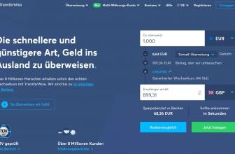 Transferwise Erfahrungen & Test 2020: günstig Geld senden